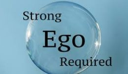 strong ego