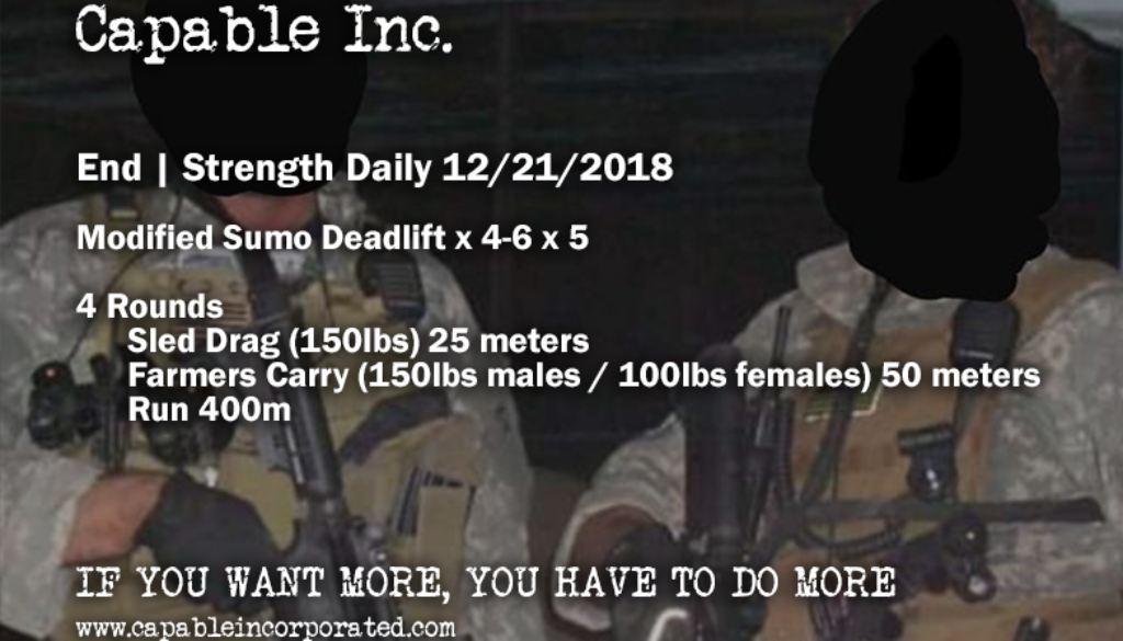 Endurance-Strength-Daily-Workout-12-21-2018