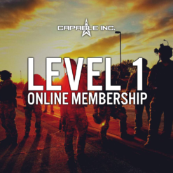 Capable Inc Level 1 Online Membership